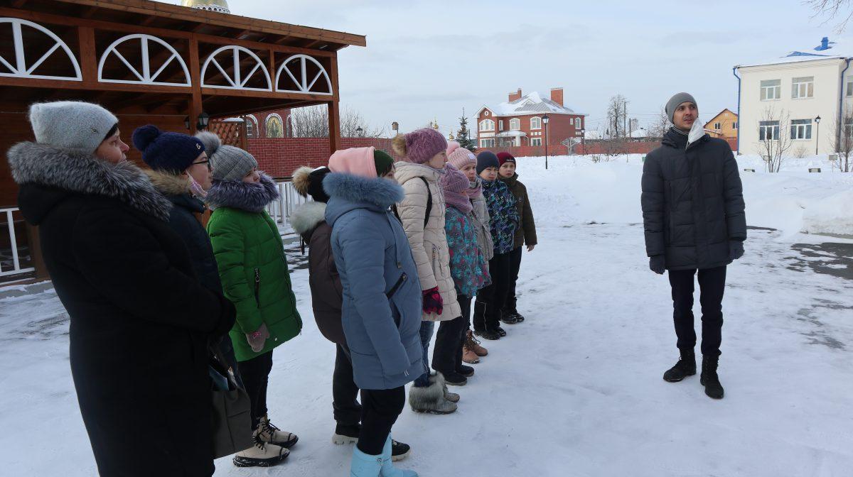Необычная экскурсия для учеников школы N 12 прошла на прошедшей неделе.