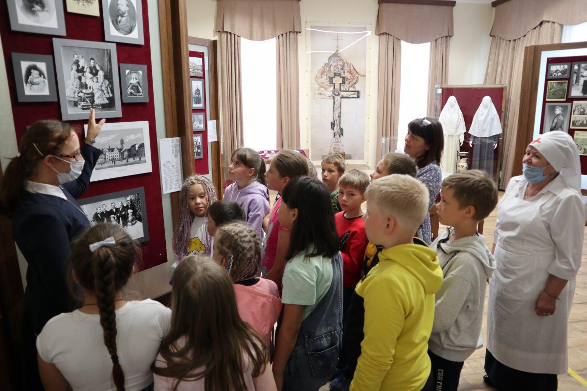 24 июня наш музей посетили дети городского летнего лагеря школы N 1