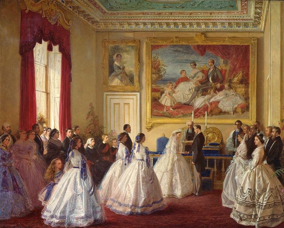 1 июля 1862 в замке Осборн состоялась свадьба родителей Великой княгини Елизаветы Федоровны, принцессы Алисы Великобританской и Ирландской и принца Людвига Гессенского.